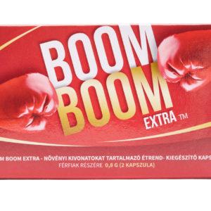 Továbbfejlesztett erős és biztonságos termék: Boom Boom Extra potencianövelő kapszula