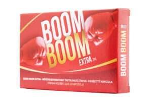 Sildenafil helyett próbáld ki a Boom Boom Extra potencianövelőt!