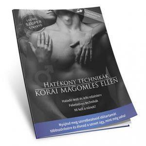 Korai magömlés könyv