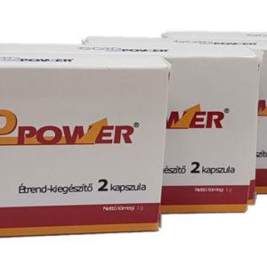 Ingyen szállítás: 4 doboz Gold Power rendelése esetén