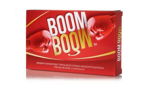 Óvszer használata mellett próbáld ki a Boom Boom potencianövelőt a megingathatatlan merevedésért