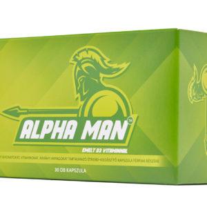 Alpha Man: Tökéletes férfierő növelő, 3 kiemelt hatással