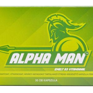 Alpha Man: #1 folyamatos szedésű immunerősítő és potencia fokozó vitamin férfiaknak