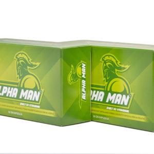 Az Alpha Man kapszula teljes biztonsággal fogyasztható bármilyen életkorban