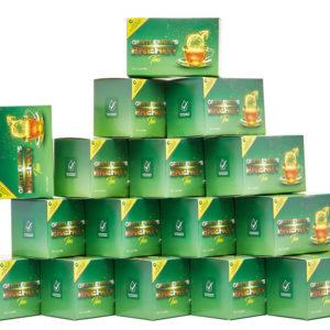 15 doboz citromos tea rendelése esetén: Ingyen szállítás külföldön bárhová, +1 doboz ajándék tea!