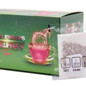 Növeld hatásosan és természetes módon a potenciádat Gentlemen's Energy zöld teával!