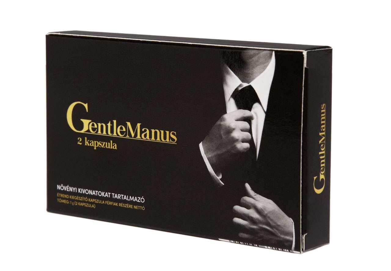 GentleManus potencianövelő: kőkemény merevedés a szex teljes ideje alatt