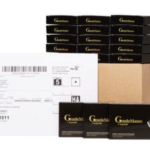 15 doboz GentleManus mellé 3 doboz ajándék! Rendeld meg a legnagyobb csomagot és spórolj azonnal 12,000 Ft-ot!