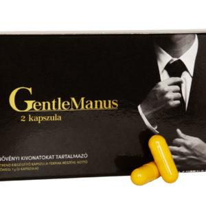 GentleManus: Erős és tartós erekciót okozó engedélyezett potencianövelő