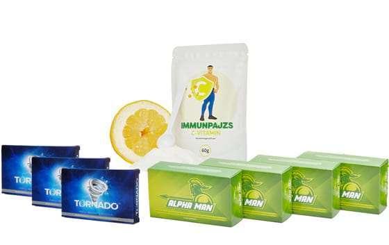 Ajándék potencianövelő és immunerősítő termékek