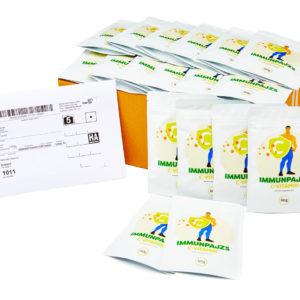 Rendelj 16 tasakkal egyszerre, és 2 tasak ImmunPajzs C vitamint ajándékba adunk!