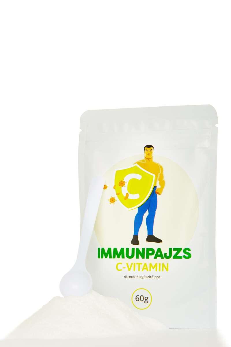 ImmunPajzs: Könnyen kezelhető, hatásos, kellemes citromos ízű C-vitamin por