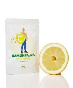 ImmunPajzs: 100%-os tisztaságú, kitűnő hatásfokú C vitamin