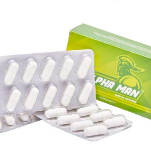 Alpha man kapszula szelénnél, valamint 9 egyéb növényi hatóanyaggal és vitaminnal
