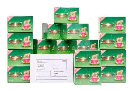 15+1 doboz erdei gyümölcsös tea ingyenes szállítással külföldre