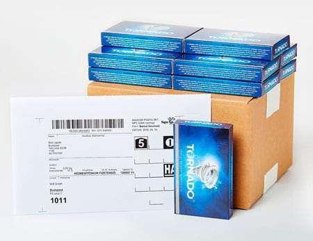 10+1 csomag Tornado ingyen szállítással külföldre