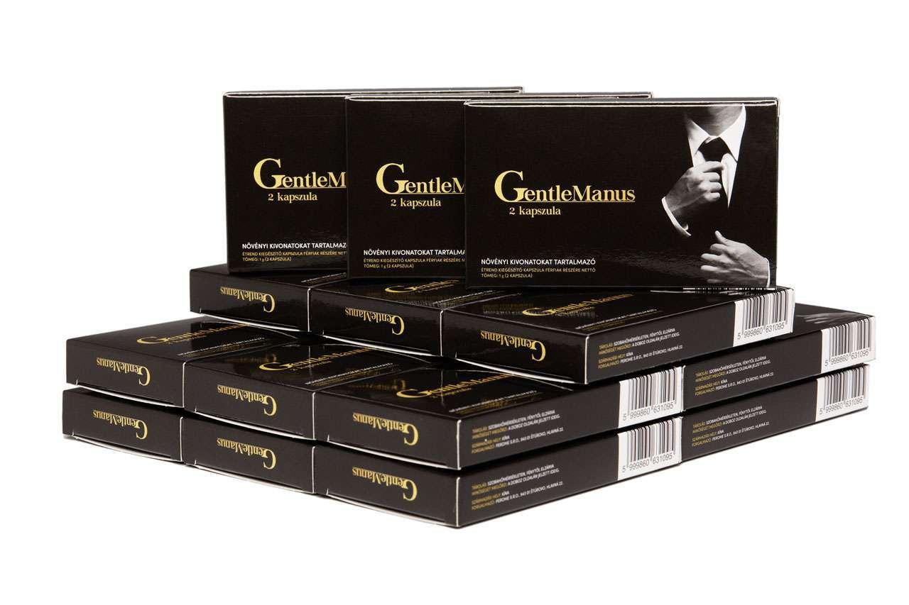 GentleManus giga csomag - 3 doboz ajándékba!