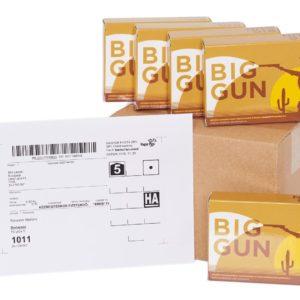 Ha bevált a Big Gun, akkor rendelj 4 dobozt egyszerre! Most az ingyen szállítás mellett, további 1 dobozt ajándékba adunk!