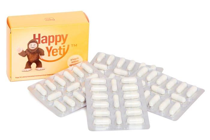 Prosztata megnagyobbodás természetes kezelése a Happy Yeti kapszulával